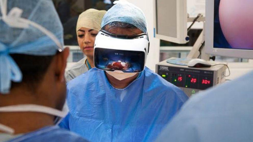 Virtual reality diagnosis